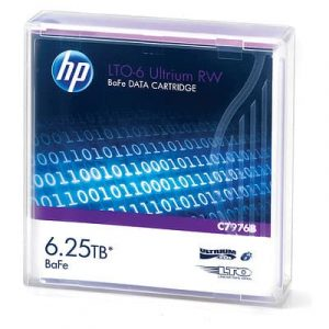 HP LTO-5 & LTO-6 Ultrium RW Data Cartridge - 3TB