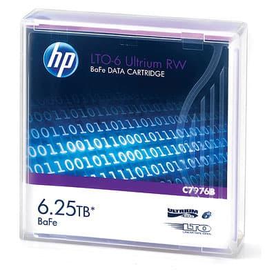 HP LTO-5 & LTO-6 Ultrium RW Data Cartridge - 3TB
