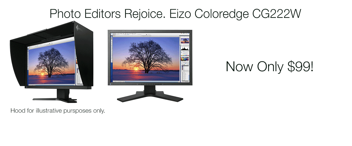 Bring Home an Eizo Today!