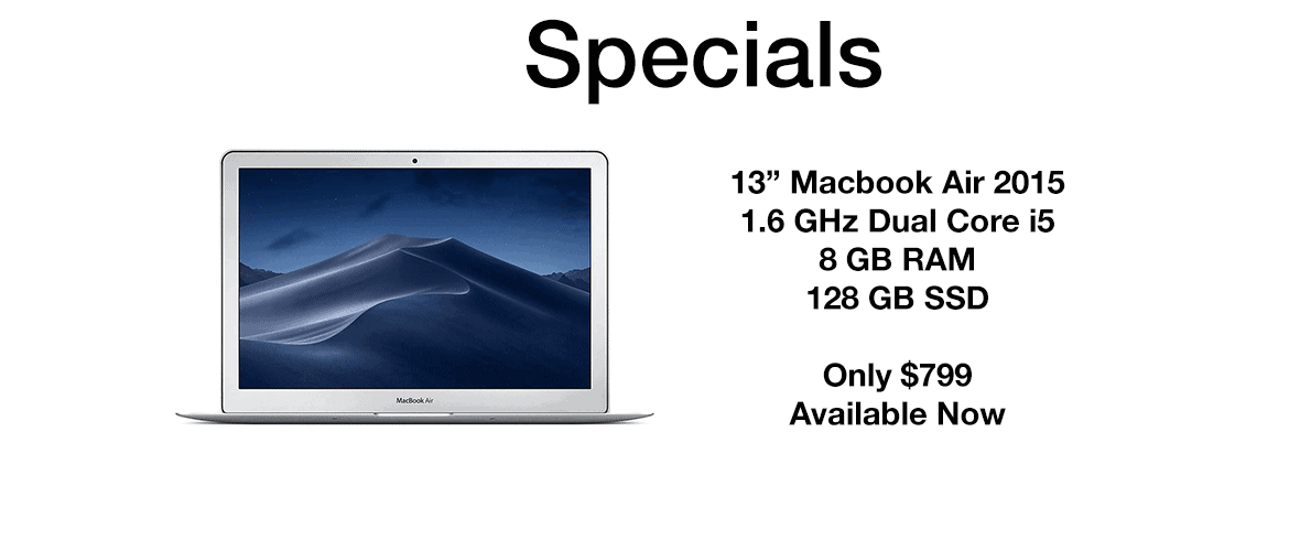 Shop Our Previously Owned Computers